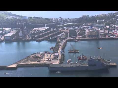 A&P Falmouth Docks Aerial View (HD)