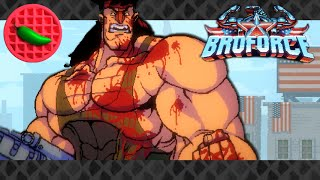 Ultimate True Victory (sort of) -- Let's Play Broforce (Tactical Ops) (Custom maps)
