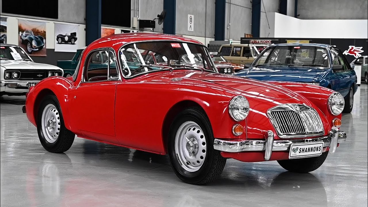 1959 MG A Twin Cam 1600 Fixed Head Coupe - 2019 Shannons Melbourne Spring Classic Auction