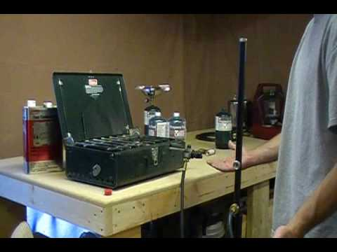 Camping Stove  Using Propane with Your Camp Stove  YouTube