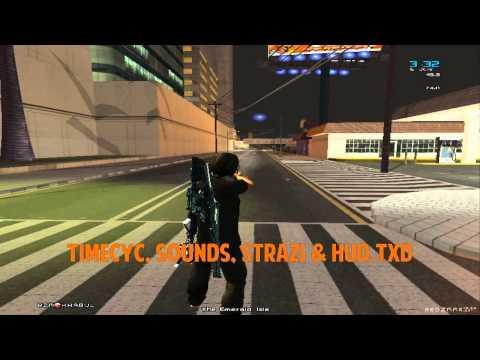 SA:MP GTA:SA Original Sounds + custom hud txd + remixed
