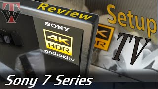 Sony XF7596 Smart TV - Unboxing, Setup & Review