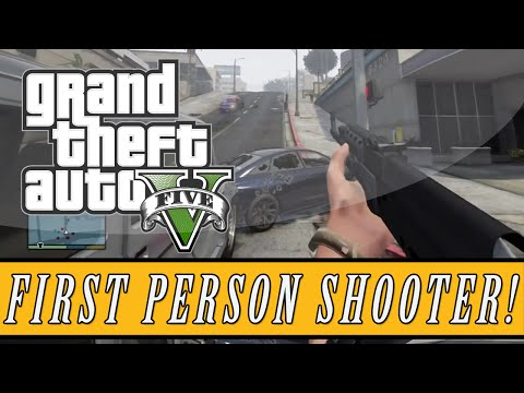 GTA 5: Mod Showcase | First Person Shooter Mod - 5 Star Wanted Level FPS Shootout! (GTA 5 FPS) - Dynasty  - 042V8CcHTZQ -
