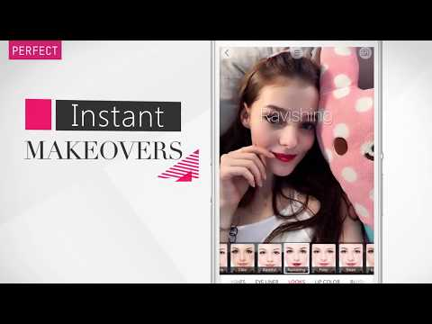 [YouCam Makeup] Google Play Store App Introduction