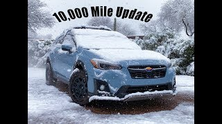 18 Crosstrek:  10,000 mile Update