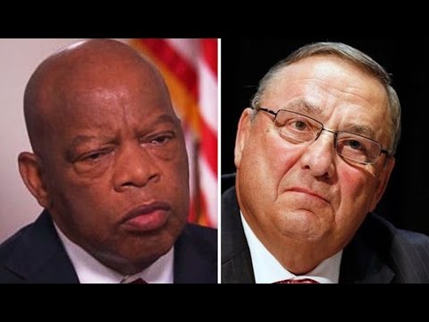 Gov. Paul Lepage: Rep. John Lewis, Civil Rights Hero, Should 'Look At History' & Thank White Guys