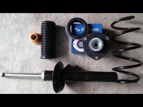 Как поменять передние пружины на Skoda Octavia A5 FL - Видео приколы ржачные до слез