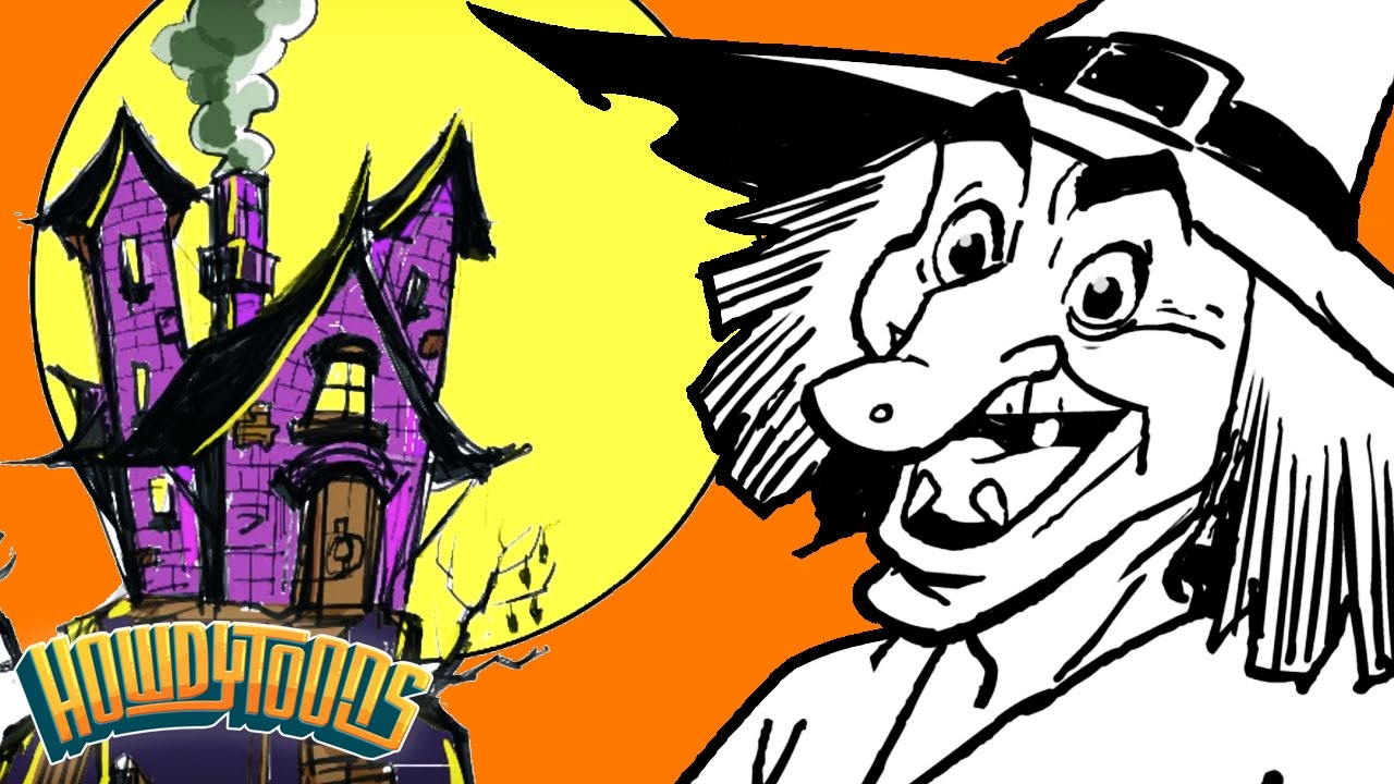 Halloween Songs For Kids I M A Crazy Witch By Howdytoons