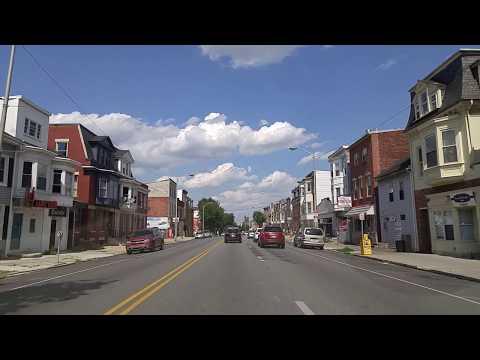 Driving By York,Pennsylvania