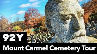 Grave tour of famous New York Jews, Sholem Aleichem (Periscope)