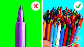 HOW TO BECOME AN ARTIST || Painting And Drawing Tricks