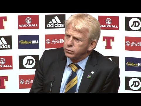 Scotland 1-0 Slovakia - Gordon Strachan Full Post Match Press Conference - World Cup Qualifying