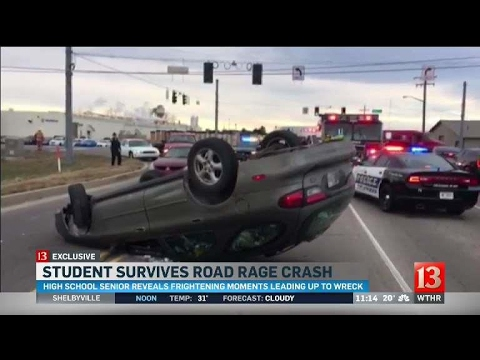Columbus road rage crash