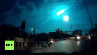 Une boule de feu mystérieuse illumine le ciel thaïlandais