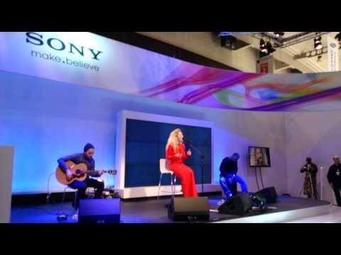 Rita Ora - Shine Ya Light - Live At Sony VIP Party @ MWC 2013