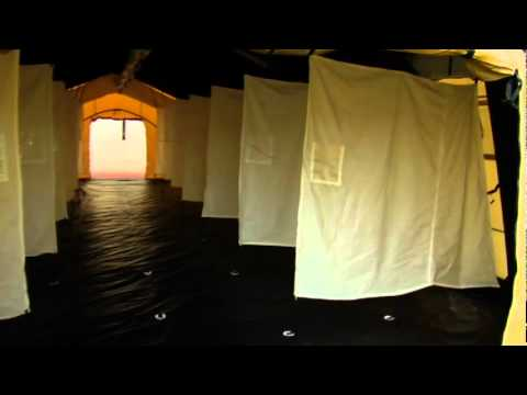 On the Go: Inflatable Emergency Shelter