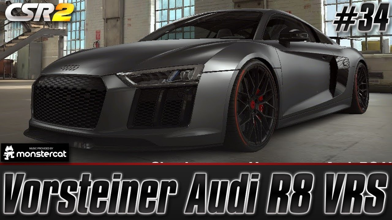 Garage Audi Tours Csr Racing 2 Vorsteiner Audi R8 Vrs Tuning Customization Garage Tour Episode 34
