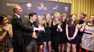 Cast of Degrassi at the 2014 Canadian Screen Awards