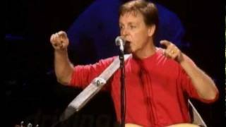 Скачать Paul McCartney Freedom Let It Be Live