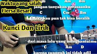 Kunci Gitar Fiersa Besari Waktu Yang Salah | Chord Gampang By Darmawan Gitar