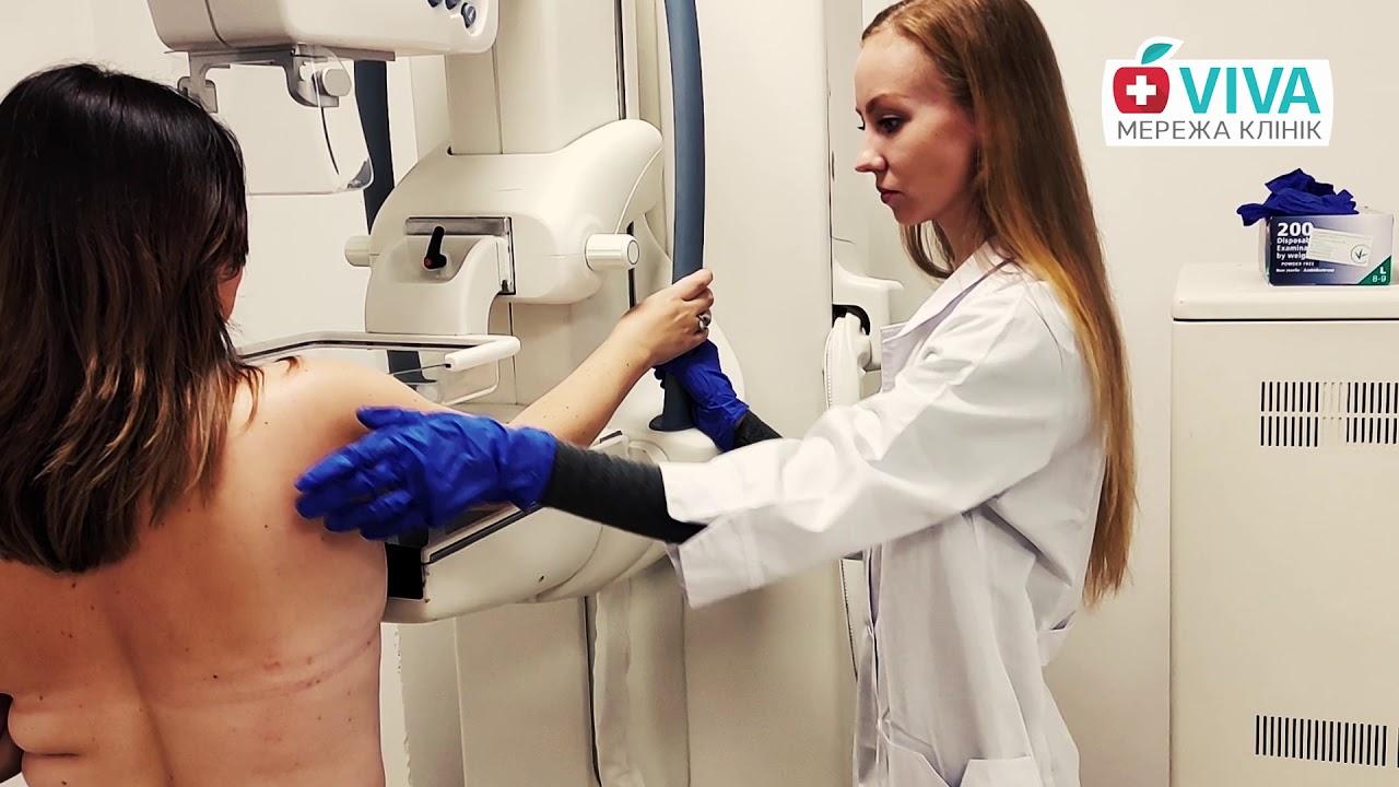 со скольки делают маммографию