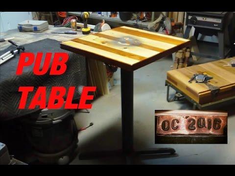 DC. Pub table