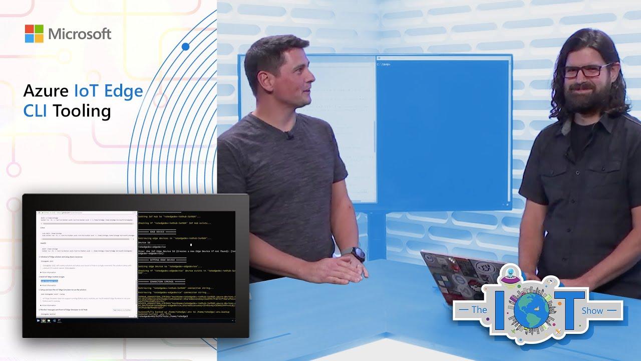 Azure IoT Edge CLI Tooling