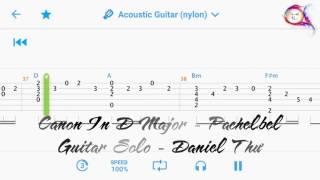[Guitar] Canon In D Major (Pachelbel) - Hướng dẫn Guitar Solo #003