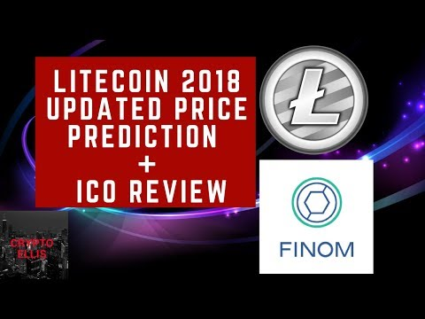 LITECOIN UPDATED PRICE PREDICTION & ICO REVIEW