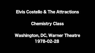 Watch Elvis Costello Chemistry Class video