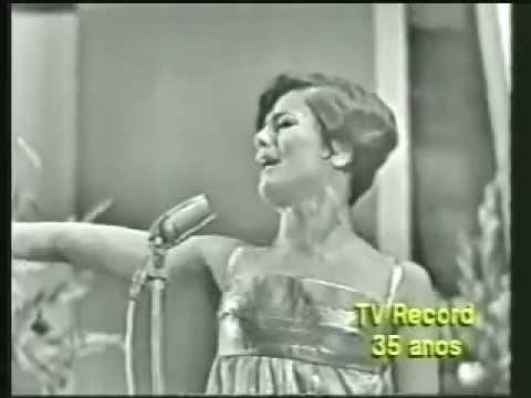 """Marilia Medalha e Edu Lobo """" Ponteio """"  """" Festival da TV Record - 1967 """""""