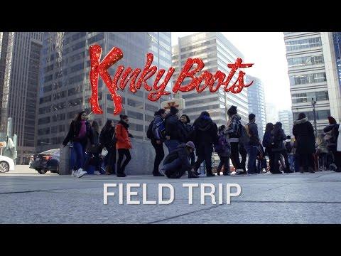 Kinky Boots Field Trip