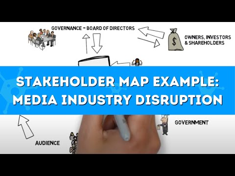 Stakeholder mapping: understanding the disruption of the media industry