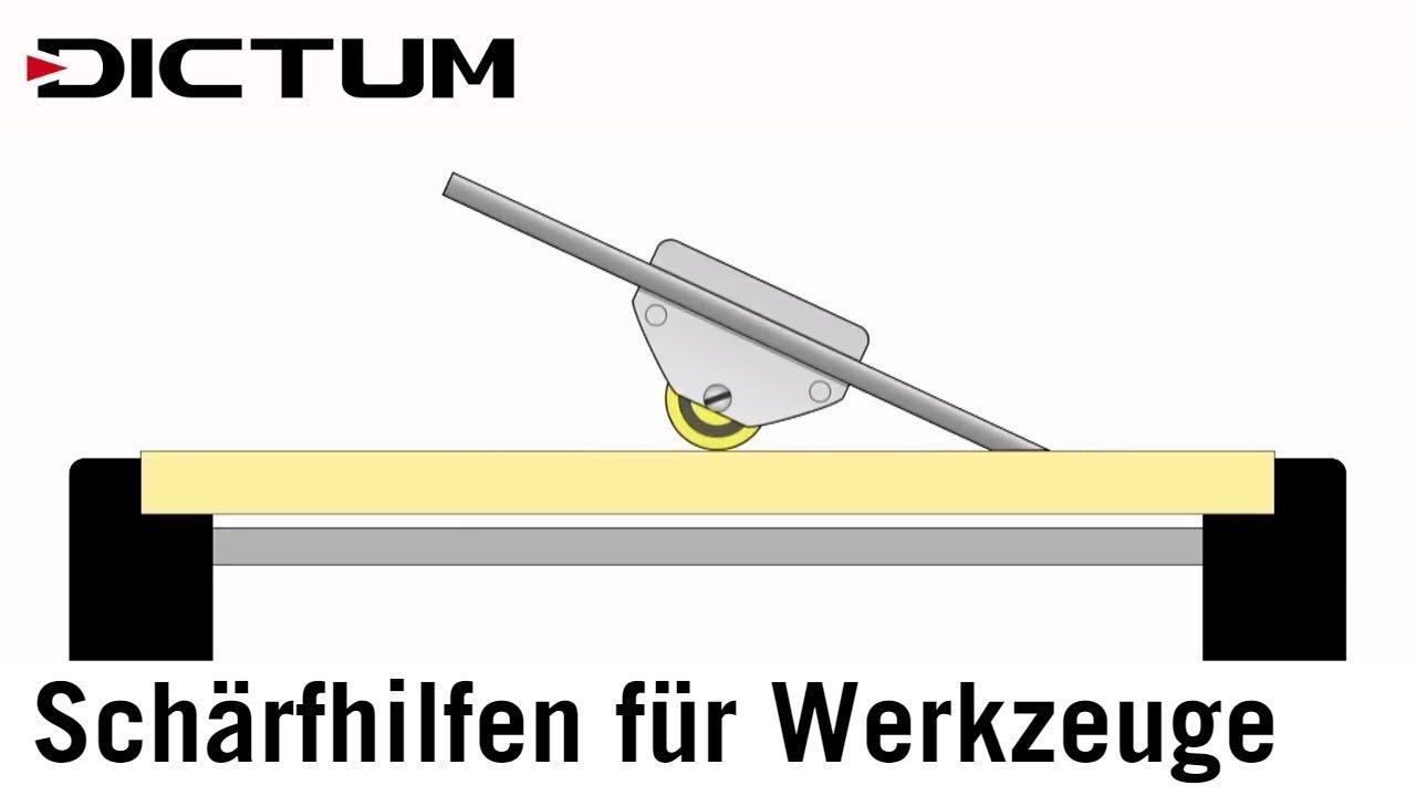 schärfhilfen für werkzeuge hobel stemm-/schnitzeisen - richtig