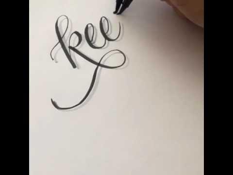 Cara buat tulisan tangan 3d dengan efek bayangan