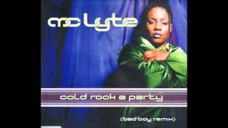 01. MC Lyte - Cold Rock A Party (Bad Boy Remix) (Radio Edit Clean)