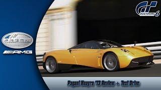 Gran Turismo 6: Pagani Huayra Review + Test Drive
