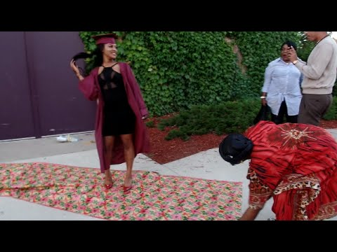 HOW WE GET DOWN AT GRADUATIONS!! | THE LIBERIAN WAY