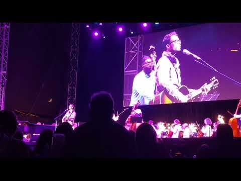 Amos Lee black river with San Diego Symphony 082517