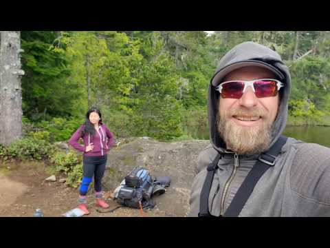 Hiking & Fishing In The Sooke Hills - Shields Lake - Peden Lake - 4 Day Catch And Cook