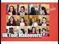 UK Tour Vintage Hair & Makeup Makeovers! by CHERRY DOLLFACE