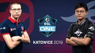 Dota 2 - Gambit vs. Team Secret - Game 1 - UB Final - ESL One Katowice 2019
