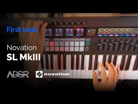 Novation 61 SL MkIII - First Look Mp3