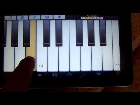 пианино планшет гимн Украини