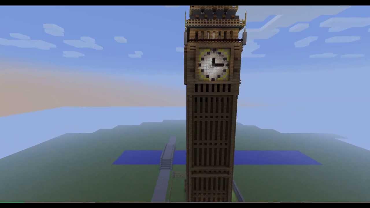 Minecraft Big Ben Final Version Youtube