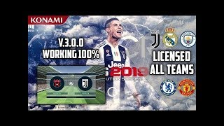 Download New Patch Pes 2019 Mobile V 3 0 1 Mod Cristiano