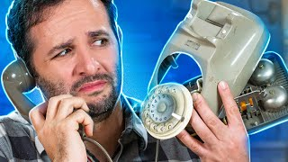 O que tem dentro de um TELEFONE DE DISCO?