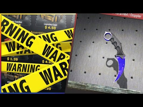 CS:GO Scratch Card | I UNBOXED A F**KING RIGGED SITE ???!!