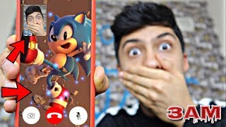 DO NOT FACETIME SONIC AT 3AM!! *OMG HE ACTUALLY ANSWERED*