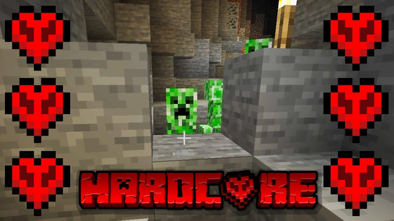 CİDDEN ZOR MU ?   Minecraft HARDCORE Survival #1